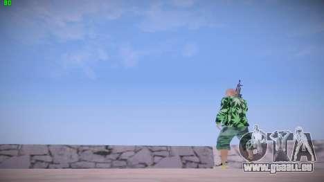 Huf Man pour GTA San Andreas cinquième écran
