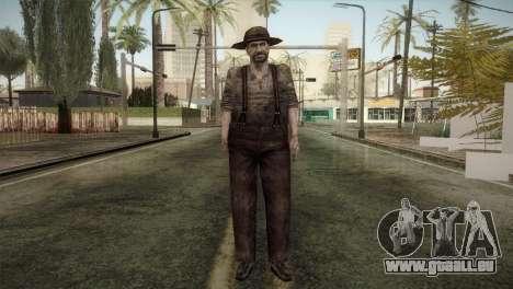 RE4 Don Diego pour GTA San Andreas deuxième écran