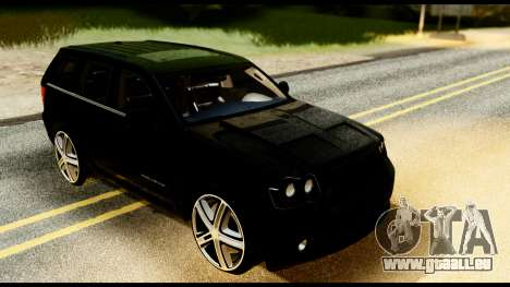 Jeep Grand Cherokee SRT8 Restyling M Final pour GTA San Andreas vue de droite