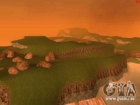 Green desert de Las Venturas v2.0 pour GTA San Andreas quatrième écran