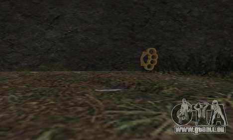 Knuckledusters from GTA 5 für GTA San Andreas zweiten Screenshot