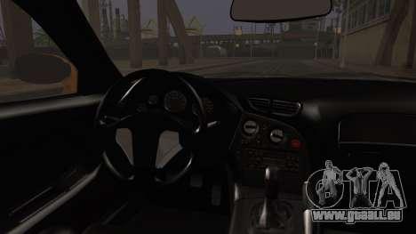 Mazda RX-7 Veilside für GTA San Andreas zurück linke Ansicht