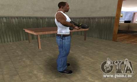 War Combat Shotgun pour GTA San Andreas deuxième écran
