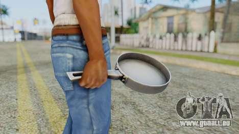Frying Pan from Silent Hill Downpour pour GTA San Andreas troisième écran