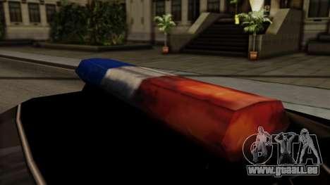 Police Elegy für GTA San Andreas rechten Ansicht