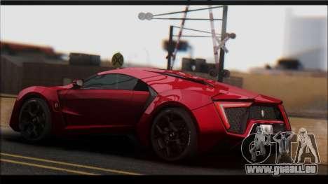 KISEKI V2 [0.076 Version] pour GTA San Andreas quatrième écran