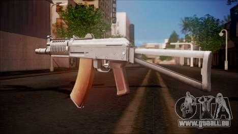 AKC-47У von Battlefield Hardline für GTA San Andreas zweiten Screenshot
