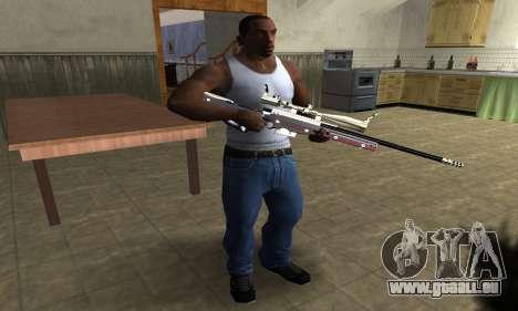 American Sniper pour GTA San Andreas deuxième écran
