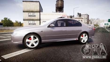 Ford Falcon XR8 Unmarked Police [ELS] pour GTA 4 est une gauche