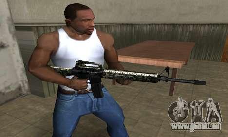 Military M4 für GTA San Andreas zweiten Screenshot