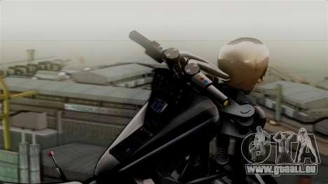 Hexer Moto Jet für GTA San Andreas zurück linke Ansicht