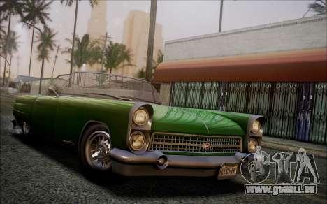 GTA 5 Vapid Peyote IVF pour GTA San Andreas