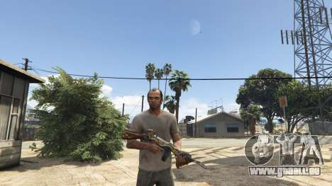 CFs Thompson Infernal Dragon für GTA 5