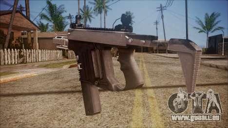 K10 from Battlefield Hardline pour GTA San Andreas deuxième écran
