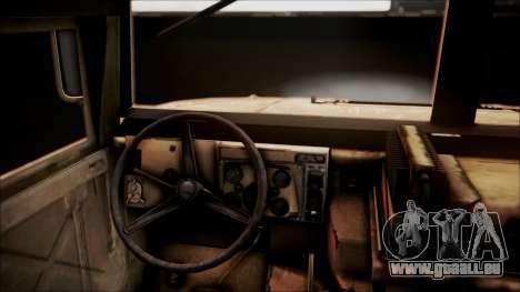 Polish HMMWV pour GTA San Andreas vue arrière