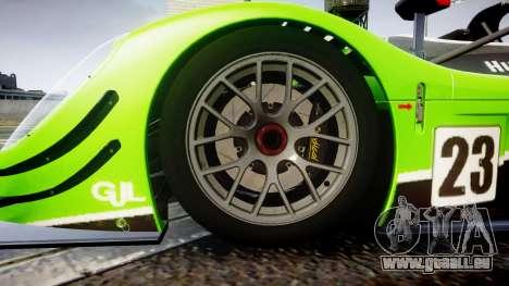 Radical SR8 RX 2011 [23] für GTA 4 Rückansicht