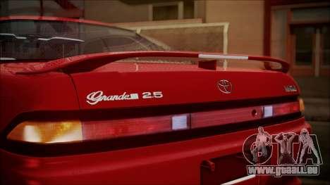 Toyota Mark II X90 pour GTA San Andreas vue arrière