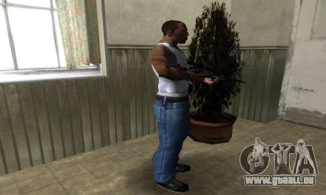 Red Flag Sniper Rifle für GTA San Andreas dritten Screenshot