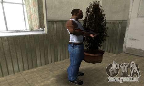 Red Flag Sniper Rifle pour GTA San Andreas troisième écran
