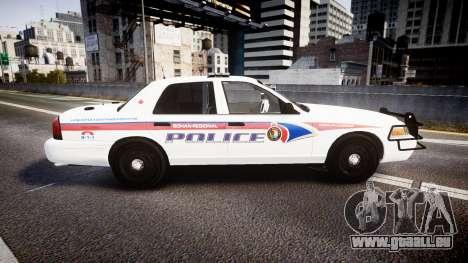 Ford Crown Victoria Bohan Police [ELS] WL für GTA 4 linke Ansicht