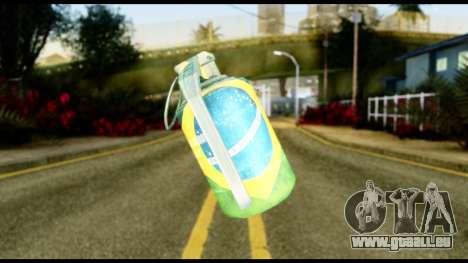 Brasileiro Grenade für GTA San Andreas