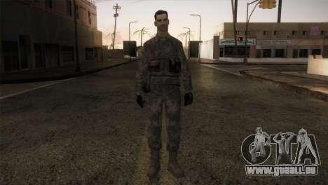 Army MARPAT pour GTA San Andreas deuxième écran