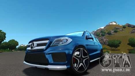 Mercedes-Benz GL 63 AMG pour GTA 4 Vue arrière