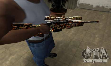 Leopard Sniper Rifle pour GTA San Andreas