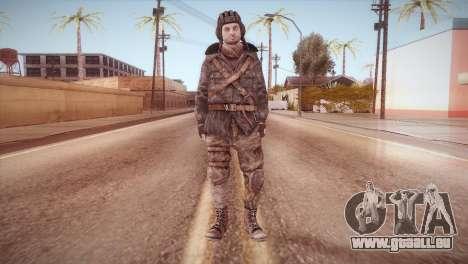 Paul v1 pour GTA San Andreas deuxième écran