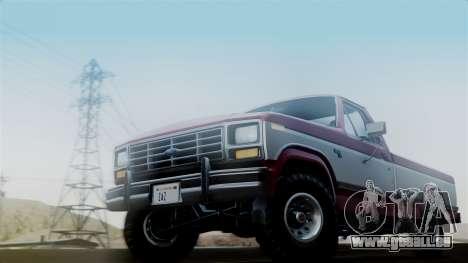 Ford F-150 Ranger 1984 pour GTA San Andreas