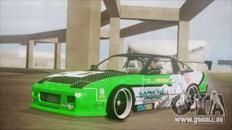 Nissan 240SX Sinon Itasha pour GTA San Andreas