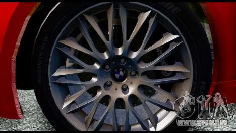 BMW 760Li E66 für GTA San Andreas zurück linke Ansicht