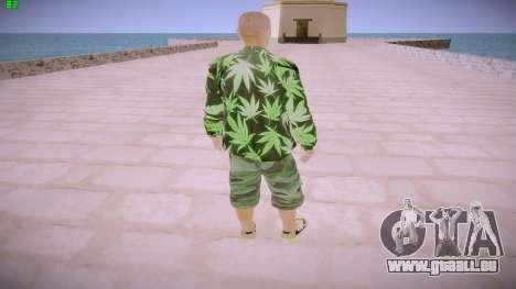Huf Man pour GTA San Andreas troisième écran