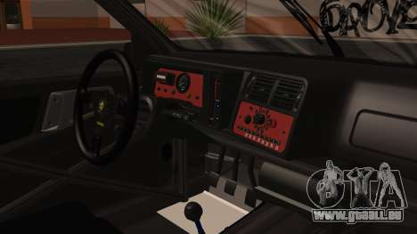 Ford Sierra RS500A pour GTA San Andreas vue de droite