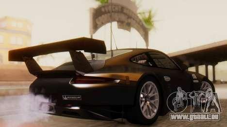 Porsche 911 RSR für GTA San Andreas linke Ansicht