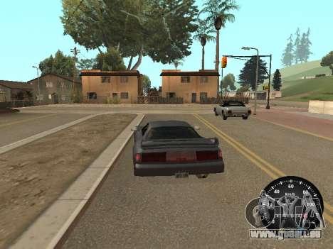 Indicateur de vitesse de GAZ 52 pour GTA San Andreas