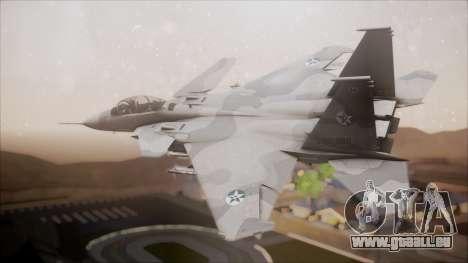 F-15S MTD Grabacr (8492nd) Ace Combat 5 pour GTA San Andreas laissé vue