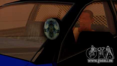 Police HSV VT GTS SA Style pour GTA San Andreas vue de droite