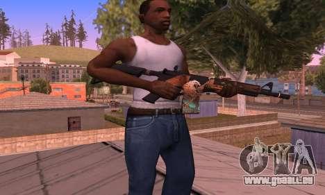 M4 Grifin pour GTA San Andreas