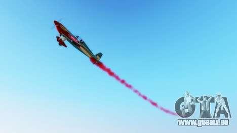 GTA 5 Rauchen in Flugzeugen v1.2 zweite Screenshot
