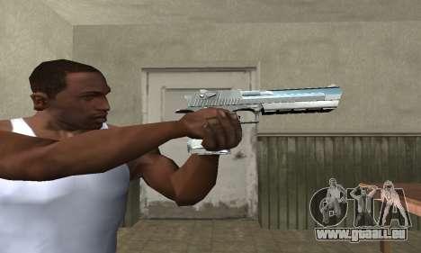 Cool Silver Deagle für GTA San Andreas