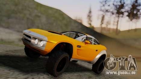 Coil Brawler Gotten Gains für GTA San Andreas Seitenansicht