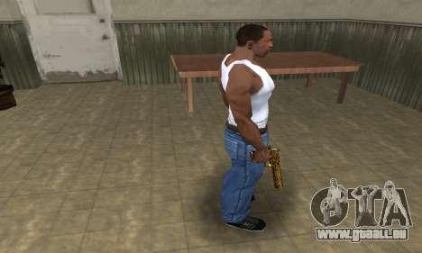Microshem Deagle pour GTA San Andreas troisième écran