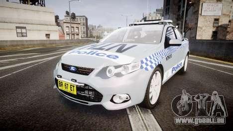 Ford Falcon FG XR6 Turbo Police [ELS] pour GTA 4