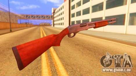 Atmosphere Shotgun pour GTA San Andreas deuxième écran