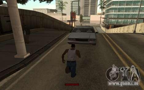 SprintBar pour GTA San Andreas quatrième écran