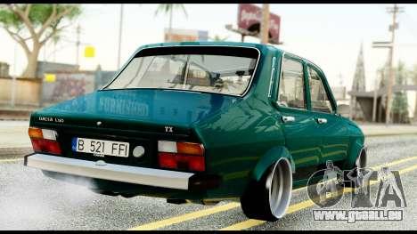 Dacia 1310 Carrera pour GTA San Andreas sur la vue arrière gauche