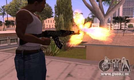 AK-47 Rebel für GTA San Andreas zweiten Screenshot