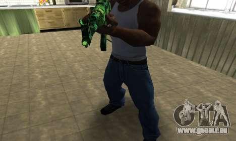 Ganja АК-47 für GTA San Andreas zweiten Screenshot