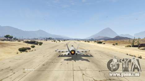 Flight Speedometer V 2.0 für GTA 5